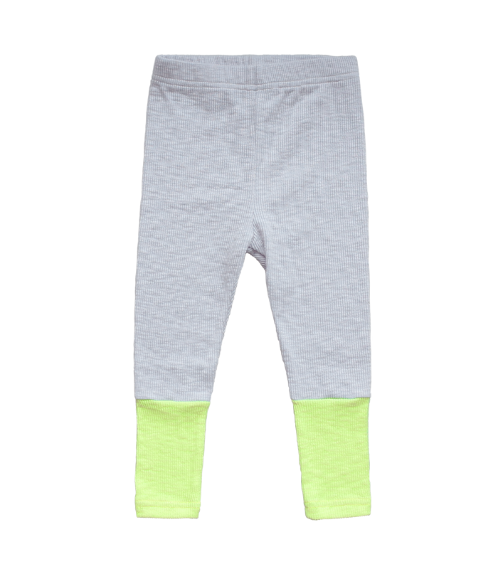 Air-conditioner Leggins Pants (Neon yellow)
