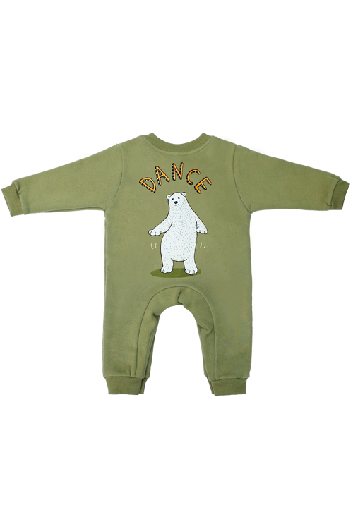 Ice Bear Jumpsuit (Green) 25%할인가격