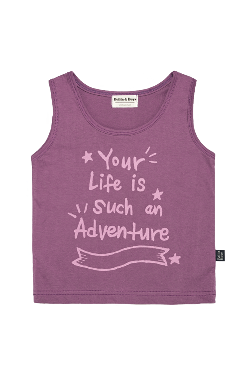 Adventure Purple Tank top  60%할인가격