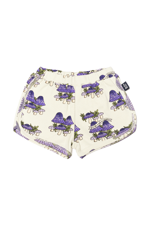 Mushrooms Purple Hot Pants  70%할인가격