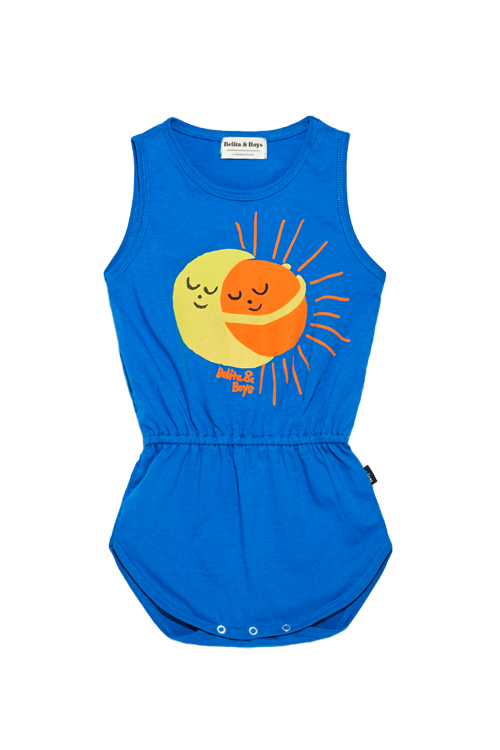 Sun and Moon Blue Bodysuit  60%할인가격