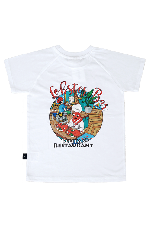 Lobster White T-shirts (for Kids) 60%할인가격