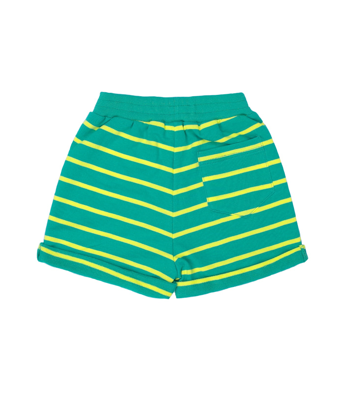 Crocodile Green Stripe Short Pants 50%할인가격