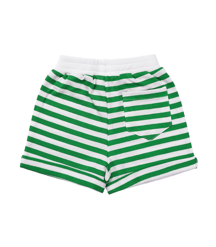 Green Stripe Giraffe Short Pant 50%할인가격