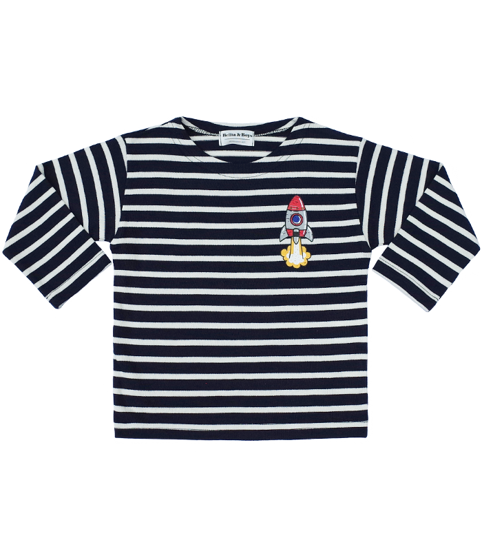 James Stripe Navy Rocket T-Shirts 50%할인가격
