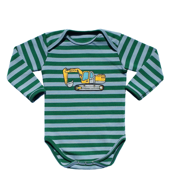Green Stripe Poclain Bodysuit 50%할인가격