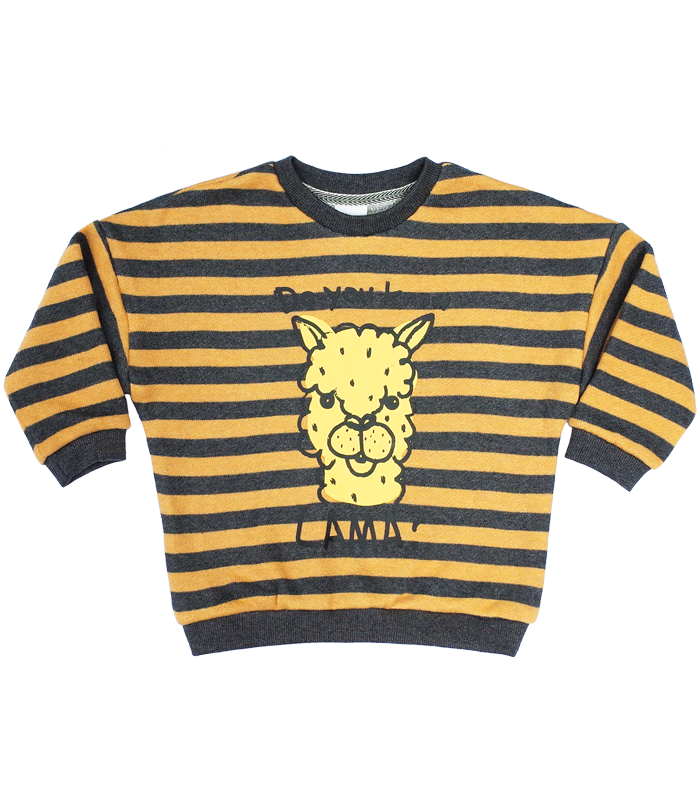 Yellow Rama Stripe Sweatshirts50%할인가격