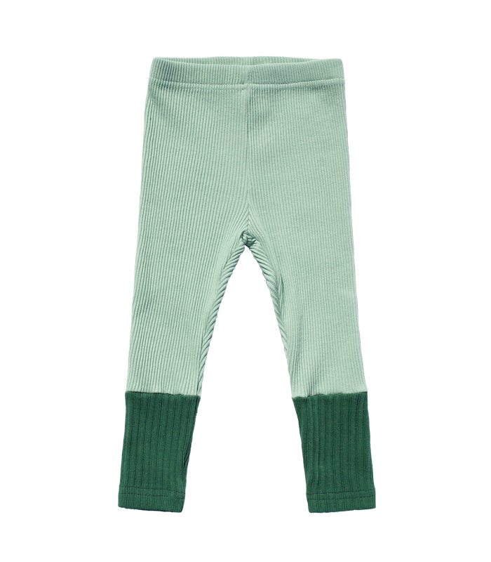 Spring Mint Leggins Pants