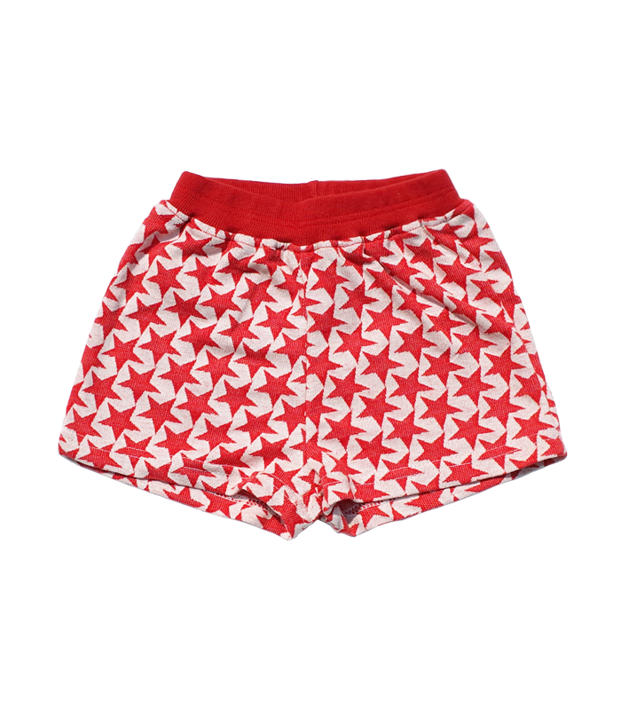 Stars Red short Pants