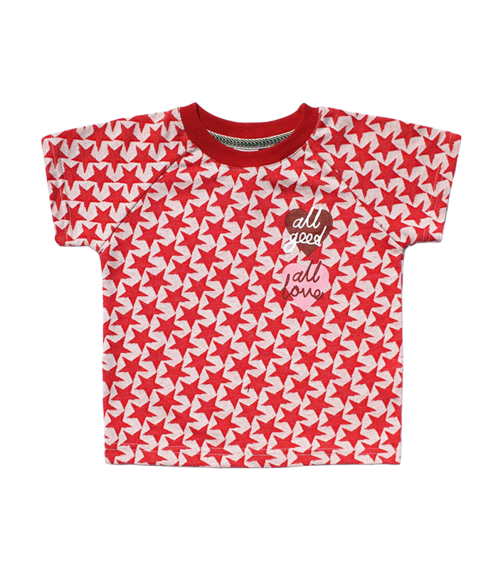 Stars Red short sleeve