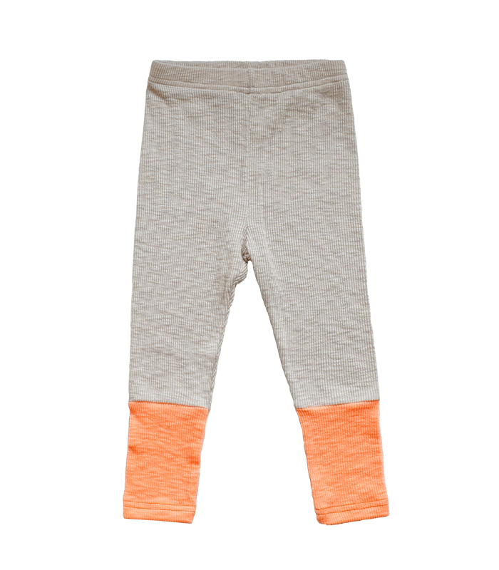 Air-conditioner Leggins Pants (Neon orange)