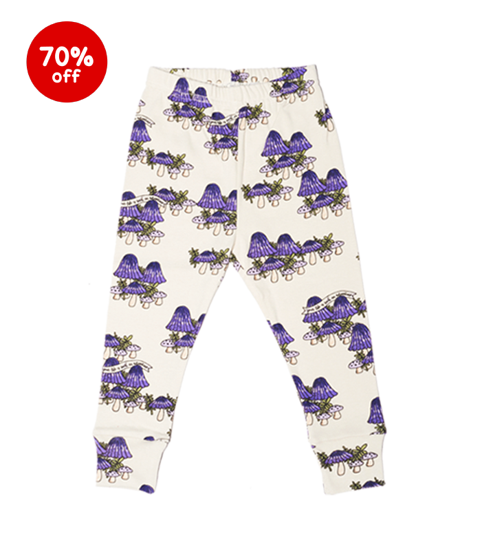 mushrooms purple pants  70%할인가격