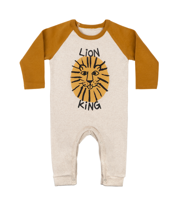 Brown Lion Jumpsuit