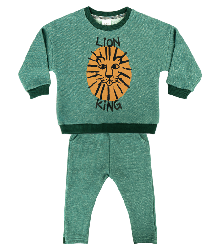[SET] New Green Lion Knit